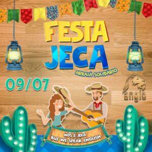 Festa Jeca Arraiá Solidário - Anglo - Balneário Camboríu - 09/07